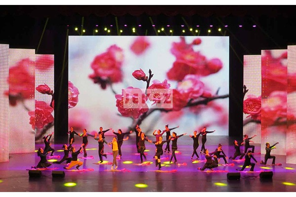 Jekaz LED Rental Screen For Indoor Stage Background